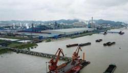 """九江钢铁:绿色发展让荒江滩架起""""彩虹桥"""""""