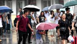 四川盆地等地有较强降雨 黄淮江淮江南等地有高温天气