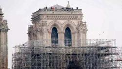 巴黎圣母院维修工程重启 此前因清除铅污染而暂停