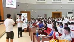 又一批社會各界人士參加武漢軍運會志愿者培訓