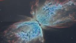 哈勃望远镜拍到一个垂死的恒星:花瓣形状将经常变换