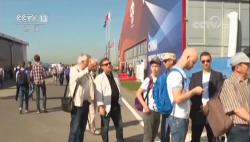 """""""中俄明星""""CR929首次海外亮相 參觀者:它將是未來的飛機"""