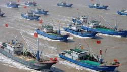 中国东海结束为期四个半月的伏季休渔 全面开渔