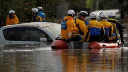 台风致东京湾一艘货船沉没7人遇难 含中国籍船员