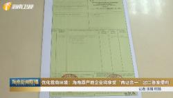 """优化营商环境:海南原产地企业将享受""""两证合一""""出口备案便利"""