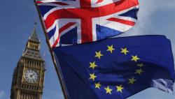 """英国""""脱欧""""日程遭议会否决首相如期""""脱欧""""承诺落空"""