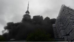 新西兰奥克兰天空城发生火灾