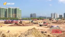 """凝心聚力 推进""""两个确保""""百日大行动 三亚大悦城项目精细化管理施工 加快项目进度"""
