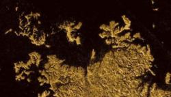 """""""土卫六"""" 首张全貌地质图亮相 显示多样化地貌"""