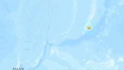 西太平洋关岛附近发生5.6级地震 震源深度67.5公里