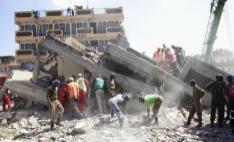 肯尼亚首都楼房倒塌事件死亡人数升至10人