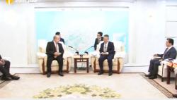 省政府分别与亚美尼亚、蒙古国代表团签署合作备忘录 沈晓明出席并分别会见两个代表团