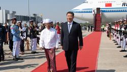 独家音频丨习近平:携手构建中缅命运共同体 开启中缅关系新时代