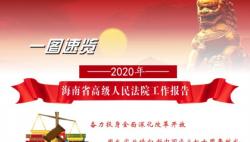 来啦!一图速览2020年海南省高级人民法院工作报告