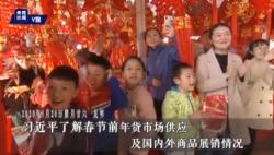 习近平考察昆明新春购物博览会 向全国各民族人民致以新春祝福