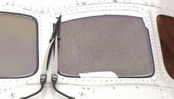 日航波音787客机飞上海 起飞滑行途中驾驶舱玻璃开裂