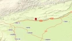 新疆喀什地区伽师县发生6.4级地震