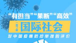 一图了解国际社会对中国疫情防控举措的评价