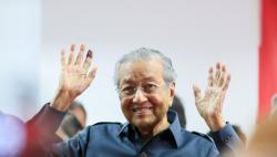 马来西亚总理马哈蒂尔递交辞呈