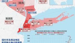 纽约市新冠肺炎确诊人数升至3615例 死亡22例