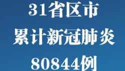 31省區市新增確診病例20例