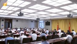 """省委农村工作领导小组召开全体会议 部署推进海南""""三农""""和脱贫攻坚工作 李军主持"""