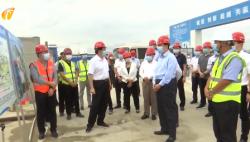 中办国办复工复产调研海南组到三亚调研复工复产情况