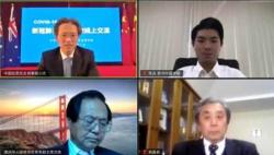 """澳大利亚华人华侨举行""""新冠肺炎疫情防控线上交流""""活动"""