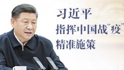 """习近平指挥中国战""""疫""""精准施策"""