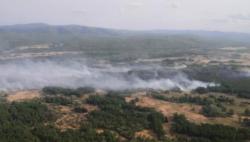 内蒙古大兴安岭发生2起森林火灾 1起已合围