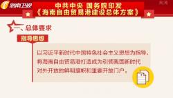 中共中央 国务院印发《海南自由贸易港建设总体方案》