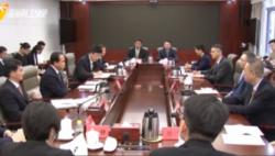 刘赐贵与首批到访海南自贸港的知名世界500强企业会谈 坚持开放安全公平原则欢迎全球市场主体 打造中国开放大门只会越开越大的新标杆