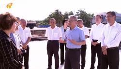 沈晓明率省政府班子成员到海口调研时要求:充分发挥省会中心城市在海南自贸港建设中的引领示范作用