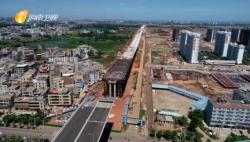 来自海南自贸港建设一线的声音 海口海秀快速路二期项目预计11月底全面投用