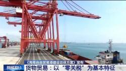"""《海南自由貿易港建設總體方案》發布 高水平自由貿易港 """"高""""在哪兒?"""
