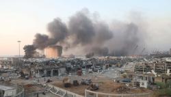 黎巴嫩港口剧烈爆炸致一名中国公民受轻伤 当地医疗机构不堪重负