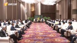 刘赐贵会见37国驻华使节