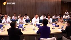 省政府与贵州省政府代表团举行工作会谈 沈晓明 谌贻琴参加