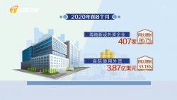 海南自贸港:创一流环境 迎八方客来 前8月新设外资企业增长86.7%