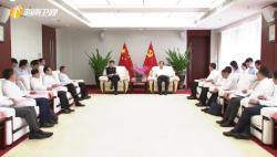 海南省与中国人寿签署战略合作协议 刘赐贵会见 沈晓明证签
