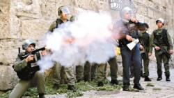 巴以圣殿山冲突致200余人受伤