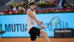 马德里网球公开赛兹维列夫逆转夺冠