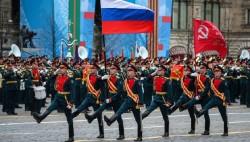 俄罗斯红场盛大阅兵 纪念卫国战争胜利76周年