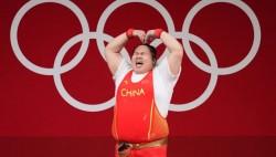 """破奥运会纪录!雯雯""""稳稳""""举一金!"""