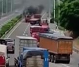 两车因追尾引发事故 23头生猪死亡2头失踪