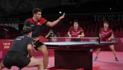 乒乓男团德国3:2胜日本,将与中国队决赛相遇