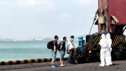 山東日照警方:一外籍貨輪3名中國籍船員不聽勸阻強行下船登陸被行拘