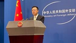 赵立坚回应美五角大楼新闻秘书涉台消极言论