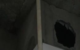 厨房墙体渗水 装修进度搁置