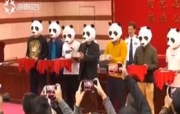 """13位黑白分明""""熊猫侠"""" 举报黑恶势力获奖42万"""